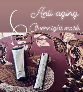 Anti-aging masker terwijl je slaapt