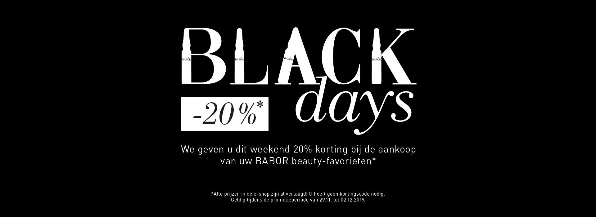 BLACK days sales